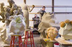 Matt Wedel's studio