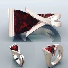 Luxury Red Ruby Geometry Wedding Ring Rose Gold Women Engagement Jewelry Gifts - Rose Wedding Ring - Ideas of Rose Wedding Ring - 7 The post Luxury Red Ruby Geometry Wedding Ring Rose Gold Women Engagement Jewelry Gifts appeared first on Awesome Jewelry. Modern Jewelry, Unique Jewelry, Fine Jewelry, Jewelry Gifts, Jewelry Accessories, Jewelry Design, Rose Wedding Rings, Engagement Jewelry, Schmuck Design