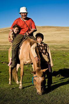 Family . Mongolia