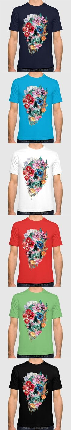 brand clothing Low price t shirts mens Momento Mori VI short O neck Letter Cotton hip hop tees homme Clothing