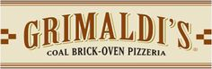 Grimaldi's Coal Brick-Oven Pizzeria located on Clematis St in West Palm Beach and also at Downtown at the Gardens in Palm Beach Gardens