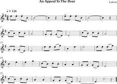 An Appeal to the bear. Canción de los Indios Lakota de America del Norte.
