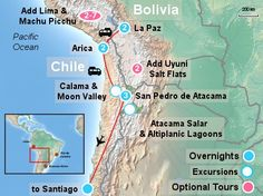 Visit La Paz, Oasis Arica & the fascinating Atacama Desert on this 4* & 5* Bolivia to Chile Tour with SouthAmerica.travel, South America tour expert.