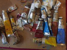 Winsor and Newton Paints / Cadmium / Cobalt  #Malerei #Bild #Ölgemälde #Kunst #zeitgenössisch #berlin #Ulm #kunst #machen #Adriana #Arroyo #Quirin #Bäumler  #winsor #newton #farbe #galerie #maimeri #leinwand #pinsel #expressive #teuer #cadmium #blue #cobalt #real Van Gogh, Berlin, Color, Contemporary Art, Abstract Art, Brushes, Ulm, Canvas, Pictures