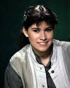 One of my first crushes - Nancy McKeon from the 80s sitcom Facts of Life. She was such a tomboy. I think she even rode a motorcycle.