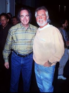 Neil and Kenny Rogers