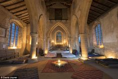 Glamping is so last year! The latest travel trend is 'champing' and it's all about spending the night in a historic church...