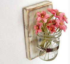 DIY - vaso de flores simples