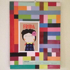 #fridakahlo#mexico#woman#illustration#juniqe#poster#design#calendar#remember#colours#pattern#rectangle#geometry#january#number#frida#frau#zeichnung#farben#muster#kalender#rechtecke#januar#zahlen#homedesign#deco#living#schönerwohnen#art#kunst