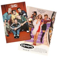 Plaster some sweet posters for pop culture faves like Clueless ($10) and *NSYNC ($10) to give the party some '90s flair.