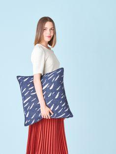 Finnish Language, Cushion Covers, Merino Wool, Dark Blue, Bell Sleeve Top, Cushions, Pure Products, Finland, Street
