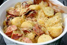 Kielbasa with Sauerkraut and Potatoes   Where Flours Bloom
