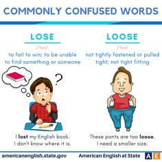Commonly confused words: Lose vs Loose