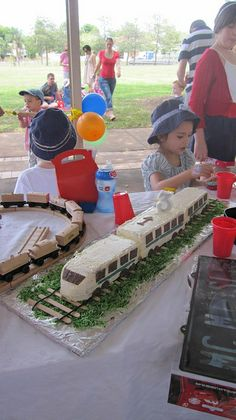 Shinkansen/bullet train cake