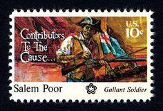10c Salem Poor 1975