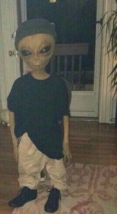 alien skater-boy via ivanande Aliens Meme, Les Aliens, Aliens And Ufos, Aesthetic Iphone Wallpaper, Aesthetic Wallpapers, Tumblr Wallpaper, Wallpaper Backgrounds, Alien Photos, Alien Aesthetic