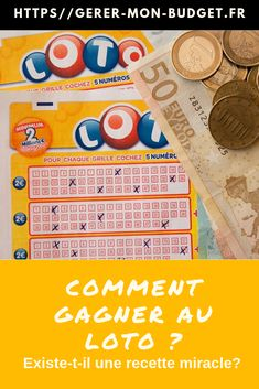 Rever De Gagner Au Loto : rever, gagner, Idées, Comment, Gagner, Loto,