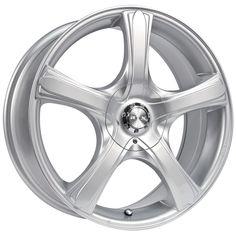 RTX Wheels - RTX - S5 Size : 16X7 / 17X7 / 18X7.5  http://www.rtxwheels.com/en/wheels/rtxwheels-s5-silver