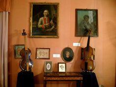 Violas da gamba by Nikolaus Leidolff (b. near Milano, Italy ca.1650-ca.1710) and Johann Seeloss (Innsbruck, 1654- Linz, 1715) at the Castello di Duino, Italy, 2010