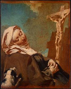 Image of St. Margaret of Cortona Feastday: February 22nd pray for us  Birth: 1247  Death: 1297