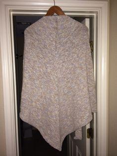 boneyard shawl - finished back