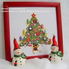 """Embroidery ... The holiday, which is always with me...: Рождественская елка """"Weihnachtsbaum""""/Acufactum «Winterzeit»"""