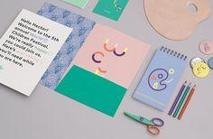 Eric Rohter :: World Children's Festival identity Self Branding, Kids Branding, Personal Identity, Visual Identity, Corporate Identity, Graphic Design Inspiration, Creative Inspiration, Brand Identity Design, Branding Design
