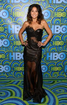 Emmanuelle Chriqui attends HBO's Annual Primetime Emmy Awards Post Award Reception at The Plaza at the Pacific Design Center on September 22, 2013 in Los Angeles, California.
