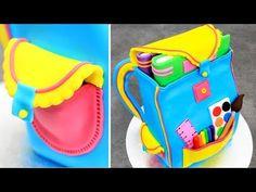 How To Make a BACKPACK Cake by Cakes StepbyStep 1f5a8ae842381