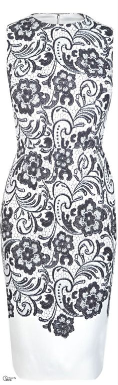 Dolce & Gabbana ● lace print shift dress