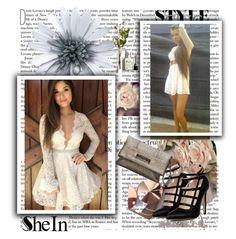 """Sheinside IX-10"" by zijadaahmetovic ❤ liked on Polyvore featuring moda, vintage e Sheinside"