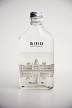Packaging / IMPERIA VODKA on Behance