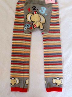 Baby Leggings elephant with stripe R120 with free delivery in South Africa http://just-engage.com/product/baby-leggings/