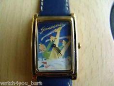 """Grüezi"" the Souvenir Watch, Nostalgie Zifferblatt Grindelwald, 30x25 mm, - NOS"