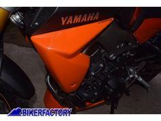 Coppia fianchetti copri-radiatore Pyramid colore Orange (arancione)
