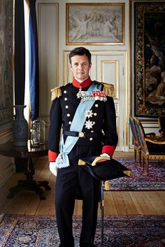 kongehuset.dk:  The Danish Royal Family released new official photos of the Crown Princely Couple, January 30, 2015-Crown Prince Frederik