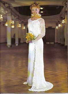 NEEDLE, THREAD AND LOVE: Brides in crochet with pattern
