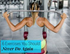 6 Exercises You Should Never Do Again