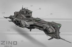 ArtStation - conceptual design, Allen Zhou
