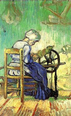 Vincent Van Gogh~ The Spinner