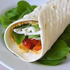 Hummus Artichoke Wrap - Allrecipes.com