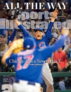 An exuberant Anthony Rizzo is featured on the cover of Sports Illustrated commemorating the Chicago Cubs' World Series win. Rizzo's exuberance is certainly justified by the 108 years it took the Cubs to secure a World Series championship, which they...