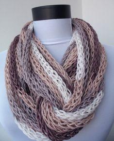 Collar de la bufanda bufanda bucle-infinito bufanda por DreamList