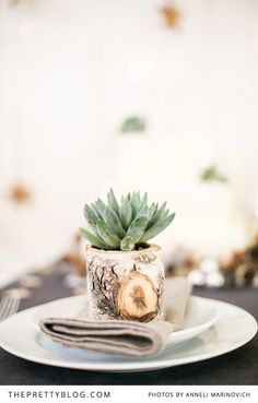 Rustic, natural, and adorable decor ideas for the holiday.