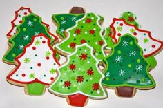 Christmas Tree Cookies | Small Christmas Tree Cookies | Flickr - Photo Sharing!