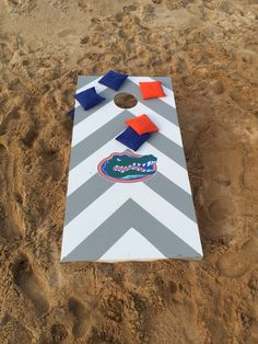 Cornhole Bag Toss Florida State Flag Cornhole Board Set Rich In Poetic And Pictorial Splendor
