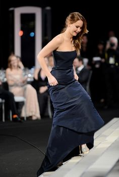 Jennifer Lawrence - Best Acttress in a Drama at  the 2013 SAG Awards