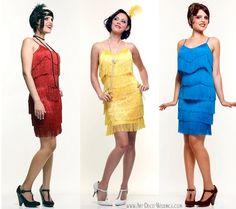 Flapper Bridesmaid Dresses    Deco Weddings