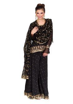 Raven Black Sharara. Also pretty