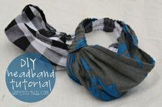 Sewing Tutorial: DIY Headband Tutorial
